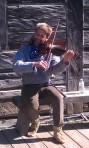 Davy Cockett VIII na violini