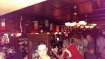 Nasa zastava u O'Byrnes pubu, okupljalistu juznoedmonstonskih Hrvata